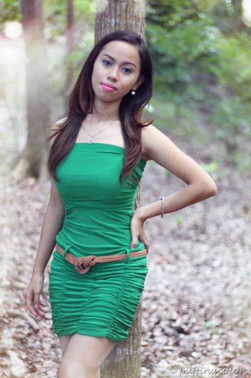 Bolder  in green